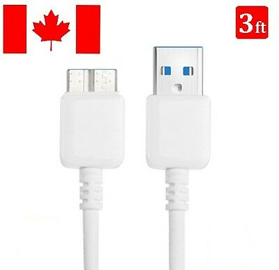 Micro 3.0 USB 1M Data Sync Charging Charger Cable For Samsung Galaxy S5 Note 3