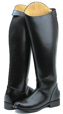 FAMMZ MB-3 Men's Man Police Horse Riding Equestrian Tall Boots With Back Zipper