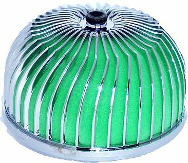 Universal 3'' Replacement Air Filter Airinx (Green) for air intake