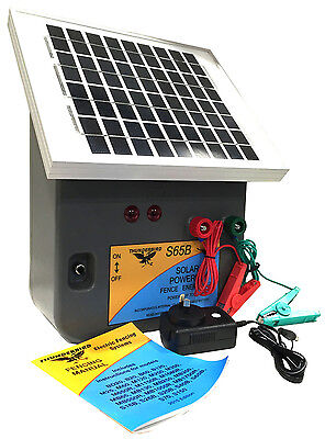 7.5km SOLAR Power Electric Fence ENERGISER Thunderbird S65b REGIONAL AREA