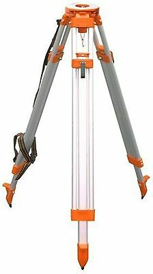 CST/berger 60-ALQCI20-O Aluminum Tripod Survey Contractor Flat Head Quick Clamp