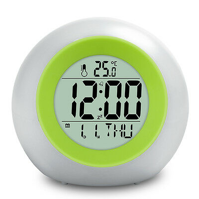 BALDR Color Changing Alarm Clocks with Colorful Backlight Change