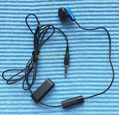 Original Playstation 4 PS4 Headset Earbud Microphone Earpiece Clip Sony