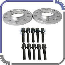 Renault Clio Hubcentric 4 Stud 15mm wheel spacer kit & Black Bolts