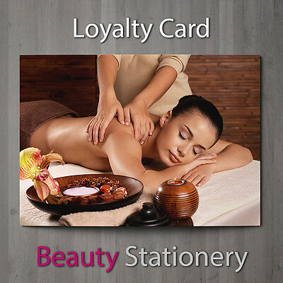 Loyalty Card Massage Beauty Salon Spa Mobile Therapist A8 Mini
