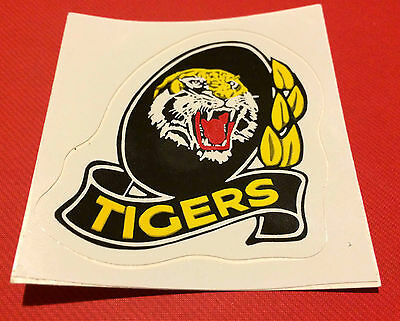 1980's VFL / AFL Richmond TIGERS Football Sticker UnStuck N/Mint Original