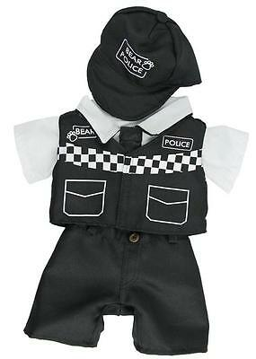 "Police Bear Cuddles Outfit  Fits 15""-16"" (40Cm) Teddies & Build Your Own Bears"