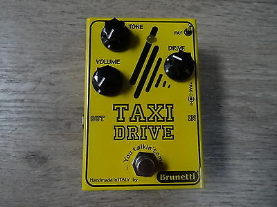 Brunetti Taxi Drive Booster/Overdrive Pedal Made in Italy
