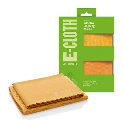 e-cloth Window and Glass Cleaning Polishing Pack - 2 Cloths - FREE UK DELIVERY
