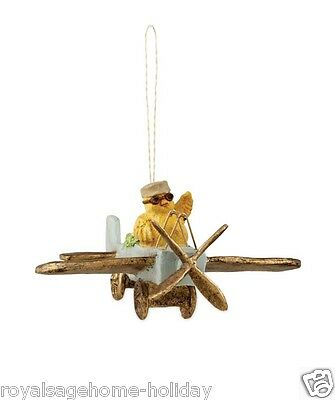 TD5011 Bethany Lowe Amelia Egghart Easter Chick Spring Decoration Ornament Plane