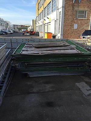 Used Crowd Control Barrier  / Solid Temporary Fence / Fencing / Safety Heras