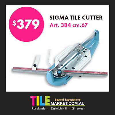 [Brand New Model] SIGMA TILE CUTTER ART 3B4- 67cm