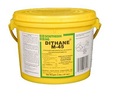 DITHANE M-45 2 lb. 80% MANCOZEB FUNGICIDE Turf Vegetables & Plants Southern Ag