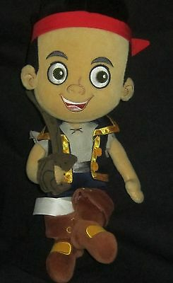 Disney Store Jake and the Never Land Pirates Jake Plush Soft Doll