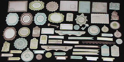 Kaisercraft 'HEIRLOOM' Collectables Die Cut Shapes Family/Heritage *NEW* KAISER
