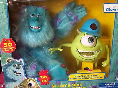 Monster's Inc. Animated Interactive Talking Mike &sully Rare New In Box
