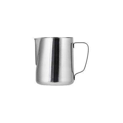 3x Milk Frothing Jug 400mL Stainless Steel Coffee Steaming Creamer Pitcher NEW