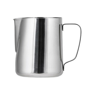 Milk Frothing Jug 2L Stainless Steel Coffee Steaming Creamer Water Pitcher NEW
