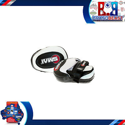 Smai Pro Focus Pads Mitts With Boxing Gloves Hook And Jab Punch Bag Kick Mma