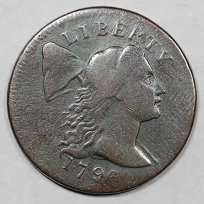 1796 S-87 R-3 MDS Liberty Cap Large Cent Coin 1c