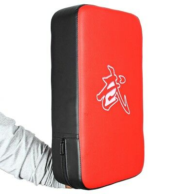 PU Leather Rectangle Strike Punching Kicking Pad Arm Shield Target for Training