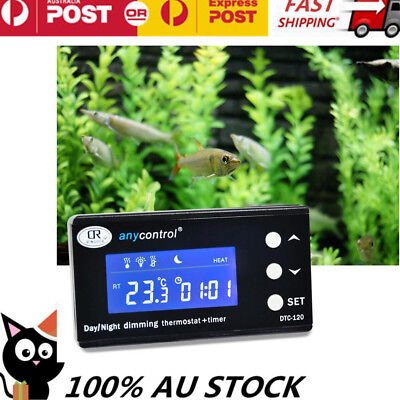 Dimming Reptile Digital Day & Night Thermostat with Timmer Heat With AU Plug