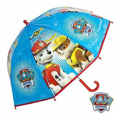Nickelodeon Paw Patrol Kids Childrens Bubble Brolly Umbrella