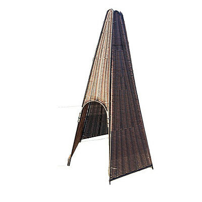 Plastic Wicker / Willow Teepee  (1.3 x 2m) Factory Second!