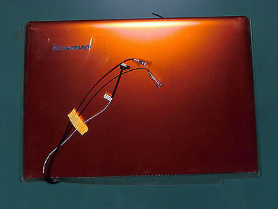 LCD Back cover orange (tapa) Lenovo Ideapad U330p (80B0) 90203125 - 35010606