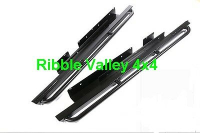 Land Rover Discovery 3 Terrafirma Rock Sliders With Tree Bars Part- Tf818
