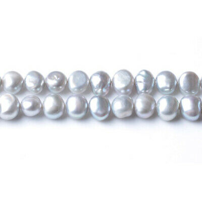 Freshwater Pearl Baroque Potato Beads 6-7mm Silver/Grey 55+ Pcs Art Hobby Crafts