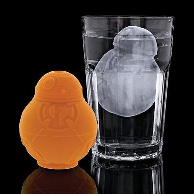 Star Wars Episode 7 BB-8 Silicone Ice Cube Maker Mould Official Lucasfilm