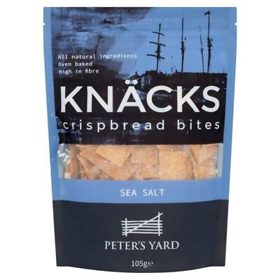 Peter's Yard Knacks Sea Salt 105g