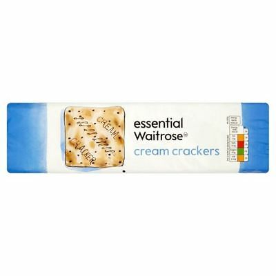 Cream Crackers essential Waitrose 300g