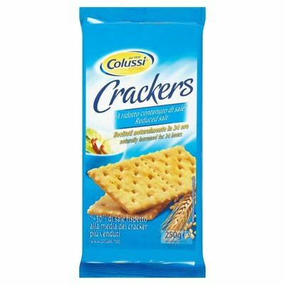 Colussi Reduced Salt Crackers 250g