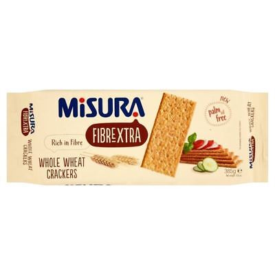 Misura Fibrextra Whole Wheat Crackers 385g