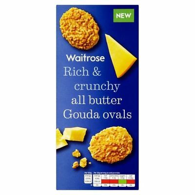 Gouda Cheese Oval Biscuits Waitrose 80g