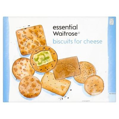 Biscuits For Cheese essential Waitrose 300g