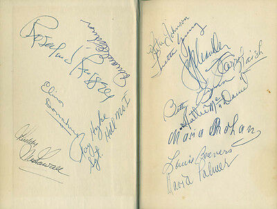 """HATTIE """"MAMMY"""" McDANIEL - BOOK SIGNED WITH CO-SIGNERS"""