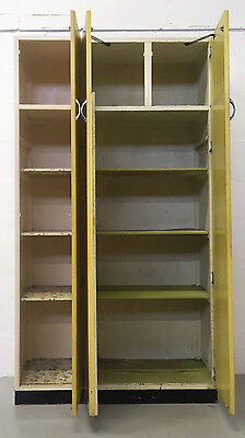 Retro Mid Century Very Funky 50S  Kitchen Cabinets/units