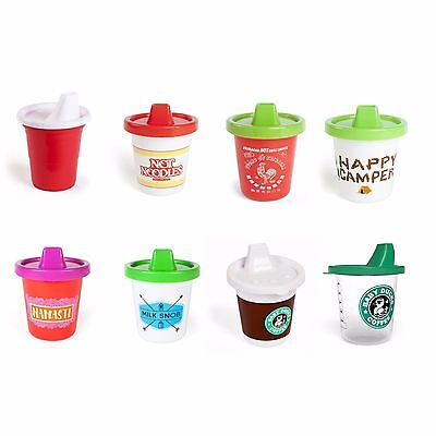 (You Pick) GamaGo Novelty Spill Proof Baby Training Sippy Cups 7 Oz Sipster