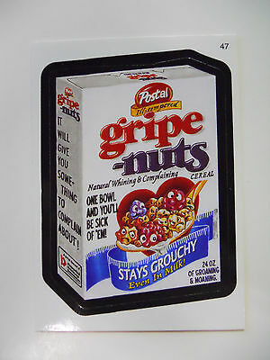 2005 Topps Wacky Packages Trading Card #47-Postal Gripe Nuts-Post