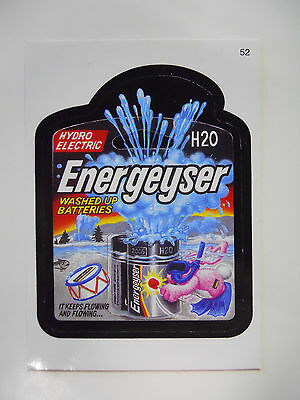 2005 Topps Wacky Packages Trading Card #52-Energeyser-Energizer
