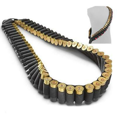 Light, Easy Carry heavy duty Shotgun Rifle Sling 56 Shell Bandolier /56 Rounds