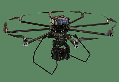 """Turbo Ace Infinity 9 OCTOCOPTER, Foldable Frame, 50"""" Frame - Step up from S1000"""