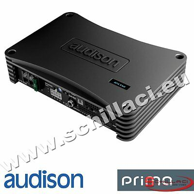 Audison AP4.9 bit DSP signal processor 4 channels amplifier