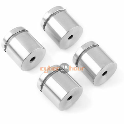 4pcs Stainless Stand off Bolts Mount Standoffs Sign Advertisement Fixing 25x25mm