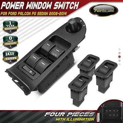 Master+3 Single Power Window Switch for Ford Falcon FG Sedan 08-14 Illumination