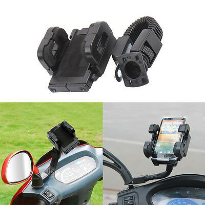 Universal Adjustable Motorcycle Scooter Mount Holder Stand For Cell Phone GPS