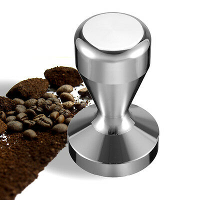 650G Stainless Steel Coffee Tamper 58MM Round Base Espresso Barista Manual Press